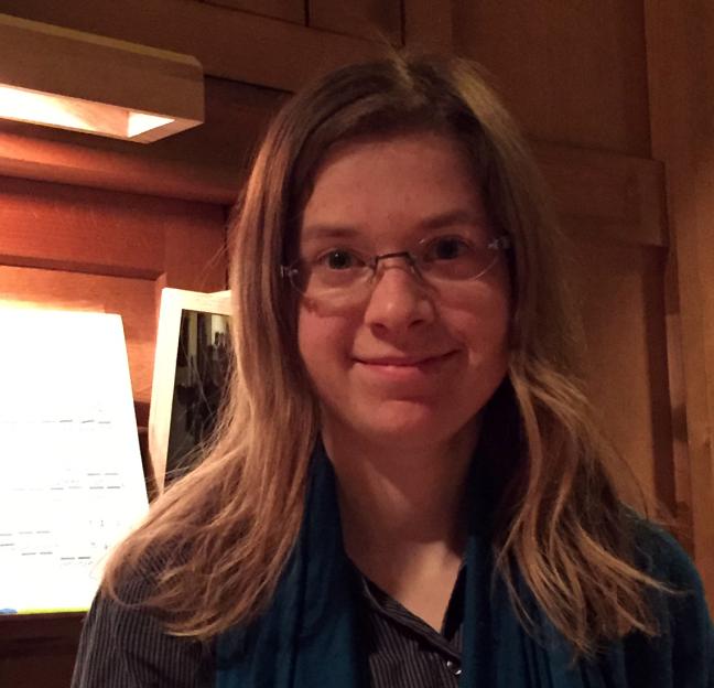 Chelsea Barton Organist St Matthias