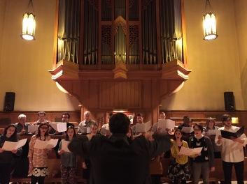 St Matthias Choir Westmount