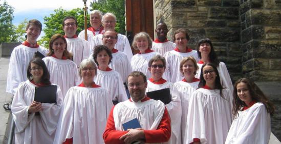 St Matthias Church Choir Westmount