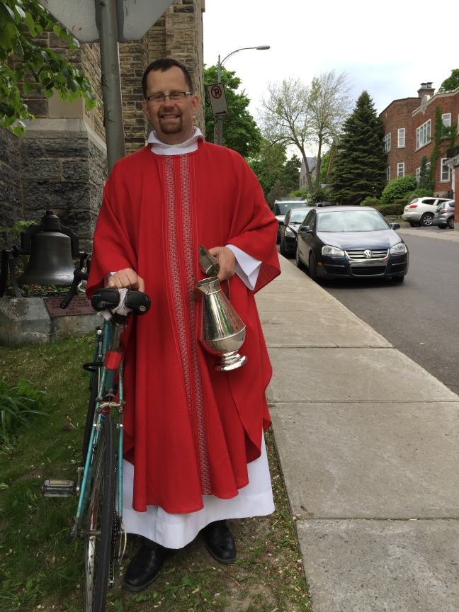 Blessing of the Bikes in Westmount